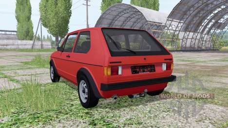 Volkswagen Golf GTI (Typ 17) 1976 v1.1 for Farming Simulator 2017