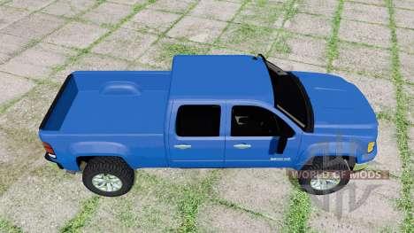 GMC Sierra 2500 HD Crew Cab 2010 v1.2 for Farming Simulator 2017
