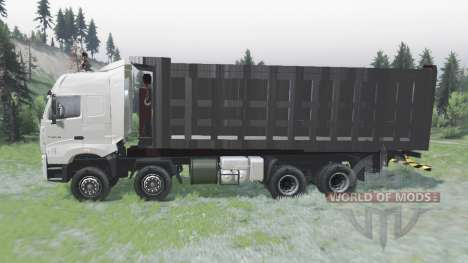 CNHTC Howo A7 2008 for Spin Tires