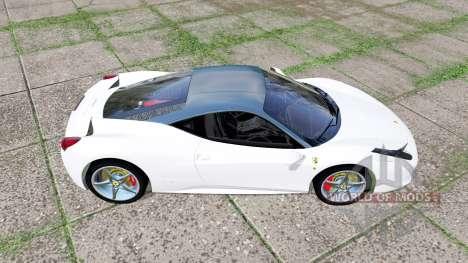Ferrari 458 Italia for Farming Simulator 2017