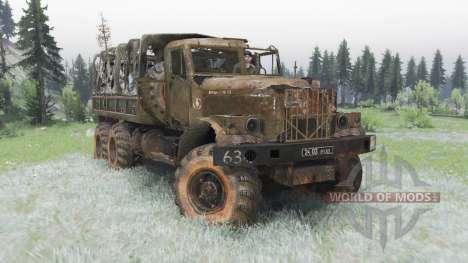 KrAZ-255B Last breath for Spin Tires