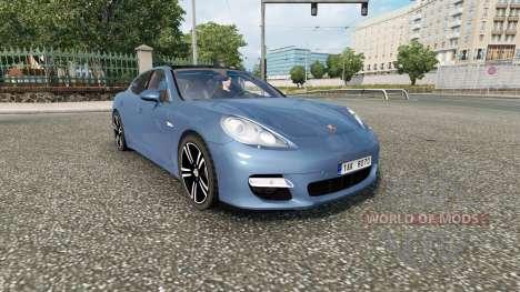 Porsche Panamera Sport (970) 2010 v2.0 for Euro Truck Simulator 2