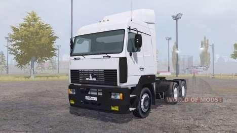 MAZ 6430А8 for Farming Simulator 2013