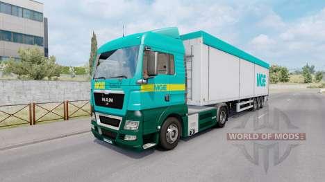 Painted truck traffic pack v5.6 for Euro Truck Simulator 2