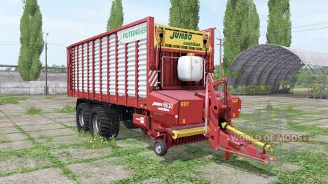 POTTINGER JUMBO 6610 combiline v1.1 for Farming Simulator 2017