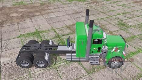 Peterbilt 379 Flat Top v1.01 for Farming Simulator 2017