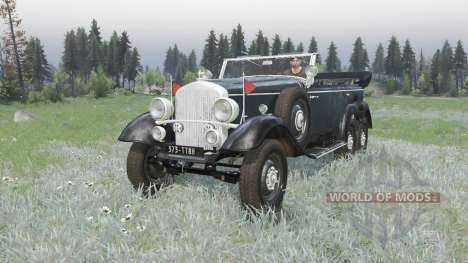 Mercedes-Benz G4 (W31) 1938 for Spin Tires