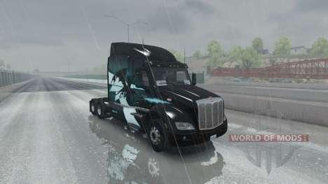 Superior rain for American Truck Simulator