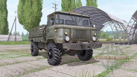 GAZ 66 v1.6 for Farming Simulator 2017