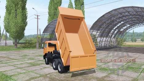 KAMAZ 65115 v3.1 for Farming Simulator 2017