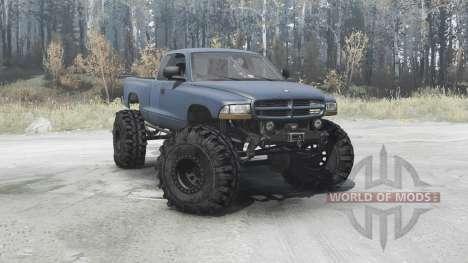 Dodge Dakota Club Cab 1997 extreme off-road for Spintires MudRunner