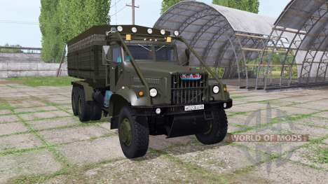 KrAZ 255B for Farming Simulator 2017