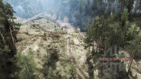 Pork Mountains v0.2 for Spintires MudRunner