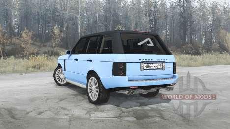 Land Rover Range Rover Sport (L320) Pontorezka for Spintires MudRunner