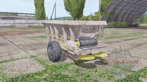 UNIA RCW 3000 v2.0 for Farming Simulator 2017