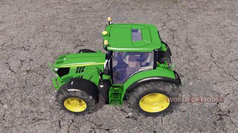 John Deere 6170R front loader for Farming Simulator 2015