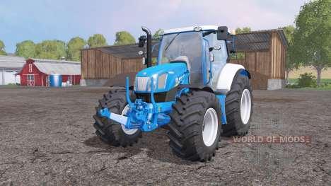New Holland T6.160 frоnt loader for Farming Simulator 2015