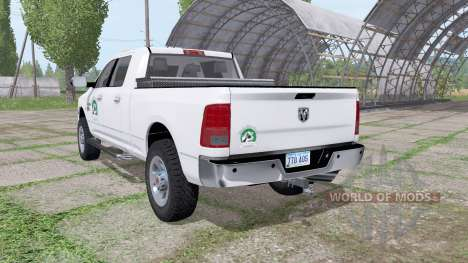 Dodge Ram 2500 Crew Cab for Farming Simulator 2017