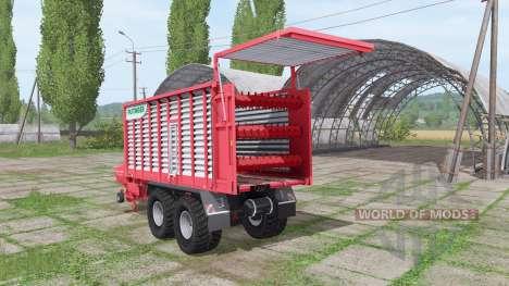 POTTINGER JUMBO 6010 combiline for Farming Simulator 2017