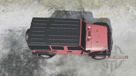 Jeep Wrangler Unlimited Rubicon (JK) 2006 for Spintires MudRunner
