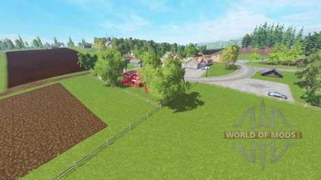 Vosges v4.1 for Farming Simulator 2015