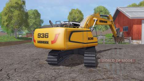 Liebherr R 936 for Farming Simulator 2015