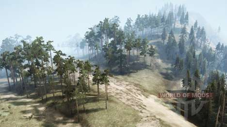 The volcano 2016 for Spintires MudRunner