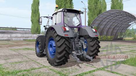 Fendt 939 Vario multicolor - more engine for Farming Simulator 2017