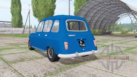 Renault 4L for Farming Simulator 2017