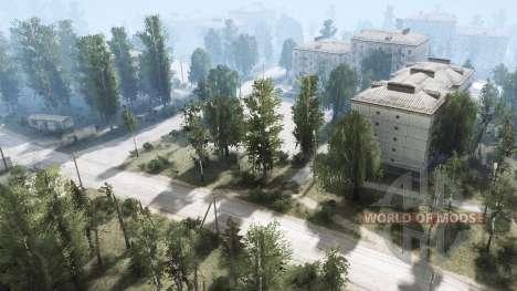 Near Berezovka for Spintires MudRunner