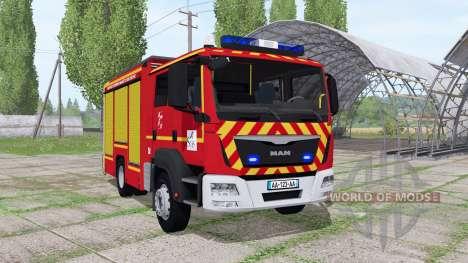 MAN TGM 18.250 Pompier v2.0 for Farming Simulator 2017