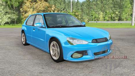 Hirochi Sunburst hatchback v1.12 for BeamNG Drive