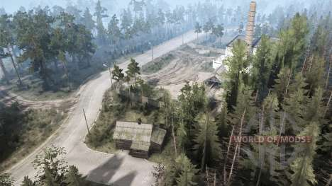 Carskie Sands v1.1 for Spintires MudRunner