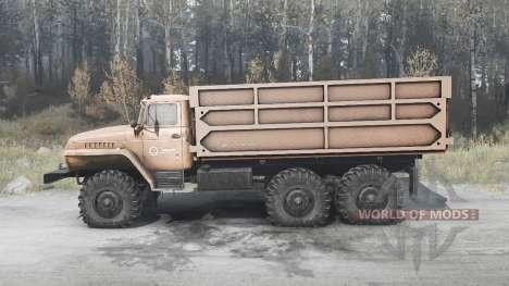 Ural 5557 for Spintires MudRunner