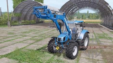 New Holland 750TL MSL v1.1 for Farming Simulator 2017