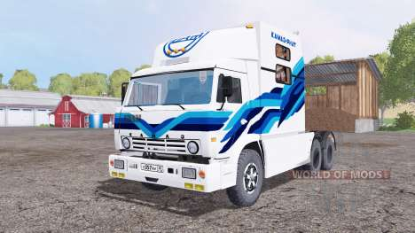 RIAT KAMAZ 54112 for Farming Simulator 2015
