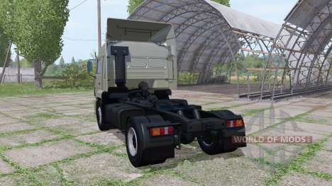 KAMAZ 5460 v3 2009.0 for Farming Simulator 2017