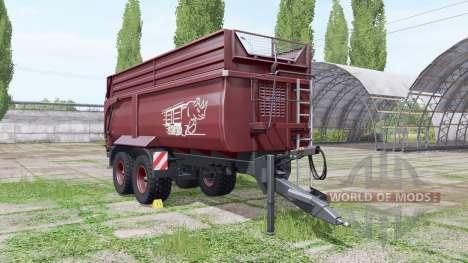 Krampe Big Body 790 v1.2 for Farming Simulator 2017