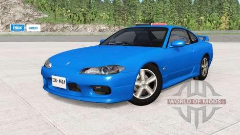 Nissan Silvia Spec-R Aero (GF-S15) 1999 for BeamNG Drive