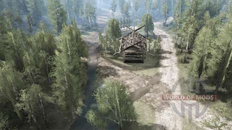 Countryside for Spintires MudRunner