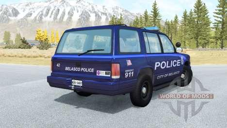 Gavril Roamer Belasco Police for BeamNG Drive