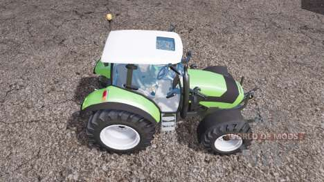 Deutz-Fahr Agrotron K 420 front loader for Farming Simulator 2015