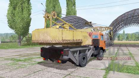 KAMAZ 43255 crane for Farming Simulator 2017