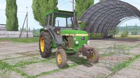 John Deere 2040S for Farming Simulator 2017