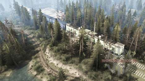 Near the railroad for Spintires MudRunner