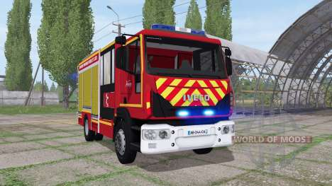 Iveco EuroCargo 2016 SDIS 28 for Farming Simulator 2017