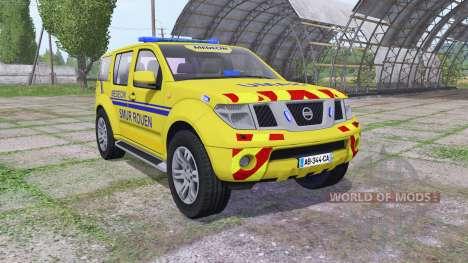 Nissan Pathfinder (R51) 2004 SAMU for Farming Simulator 2017