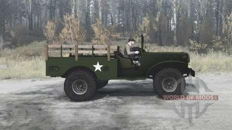Dodge WC-51 (T214) 1942 for Spintires MudRunner