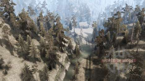 Pogue Creek Canyon for Spintires MudRunner