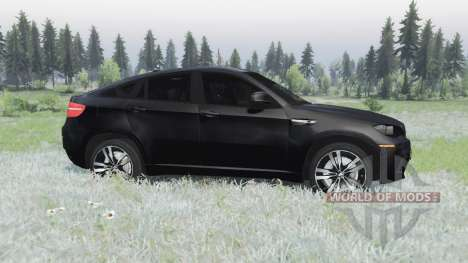 BMW X6 M (E71) for Spin Tires